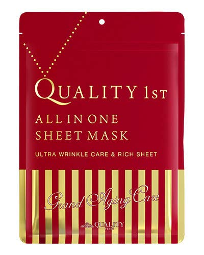 Quality First All-in-one Grand Aging Care Face Mask 7 Sheets