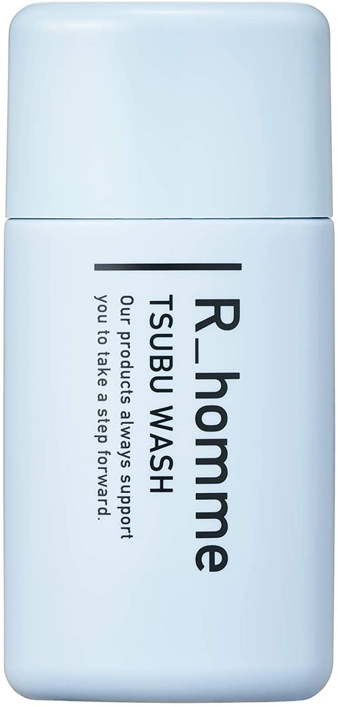 R_homme Full Wash Enzyme Face Cleanser Approximately 60 Uses (Blackhead Care) No Additives (45 g) (Morning Night Approx. 1 Month Supply)