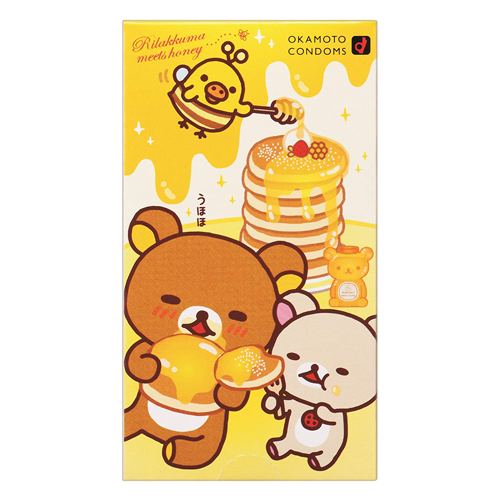 Rilakkuma Love Love Hot Condoms 10 Pieces