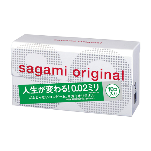 Sagami Original 0.02ml 10 Pieces