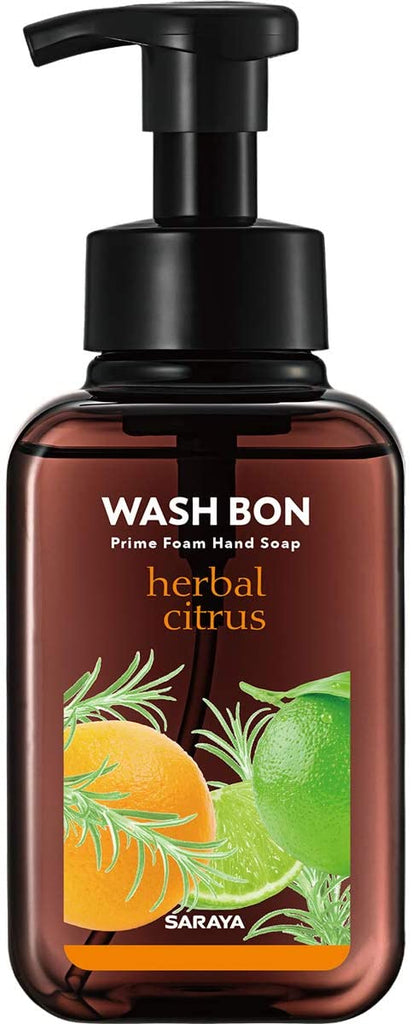Saraya Washable Prime Foam Herbal Citrus (500 ml)