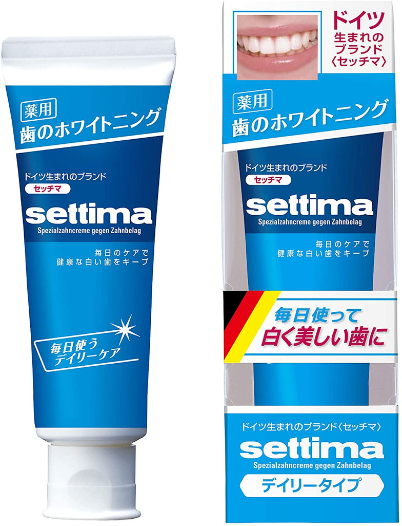 Settima Whitening Toothpaste Daily Care Fine Mint Type (80 g)