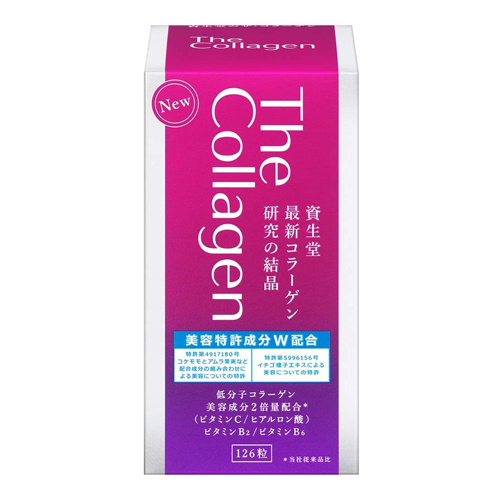 Shiseido The Collagen Tablet W 126 Tabelts
