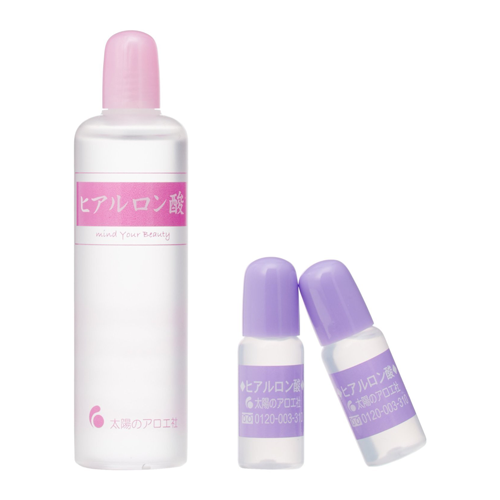 Taiyou no Aloe Hyluronic Acid Toner 80ml and 2 Bottles of 10ml