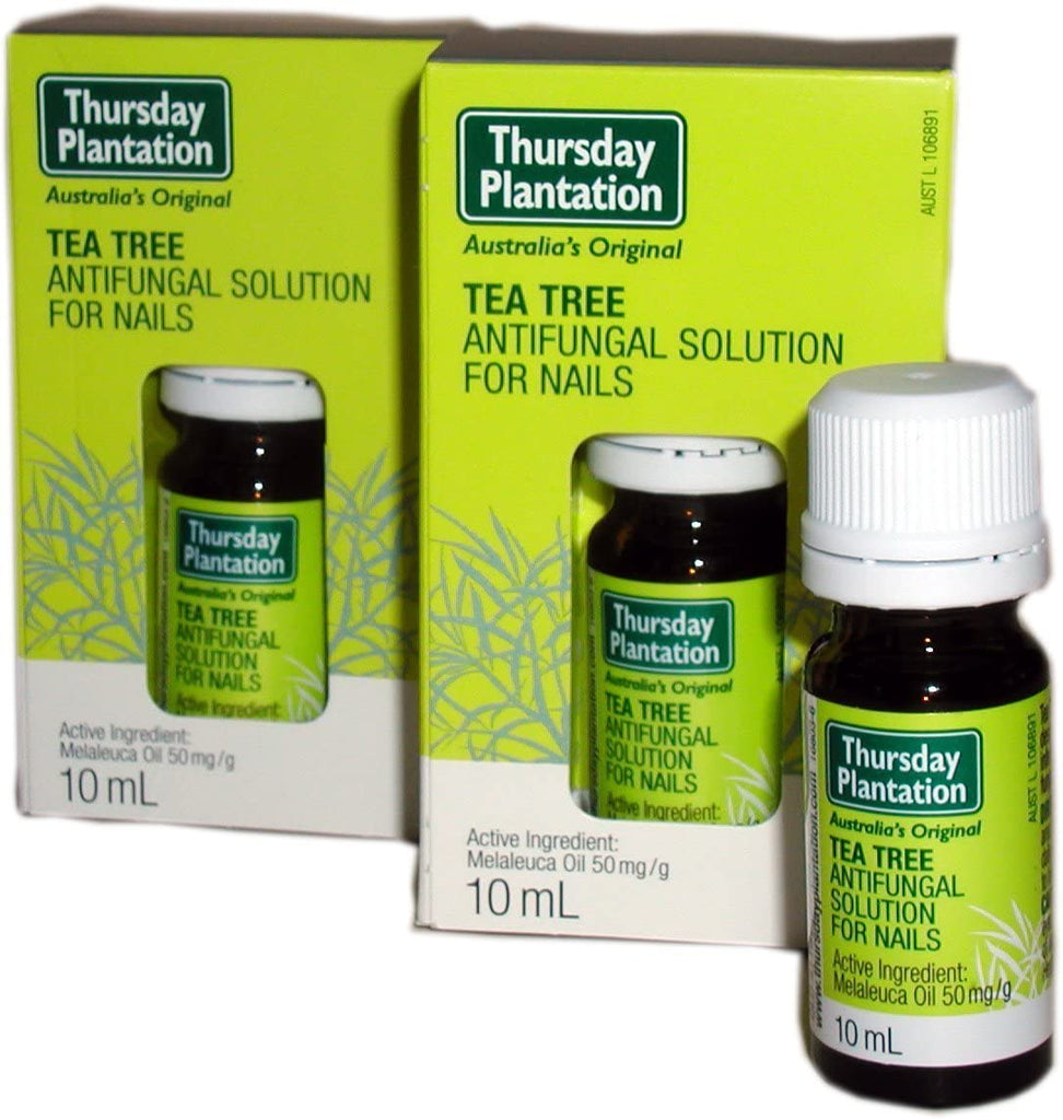 Tea Tree Anti Fungal Solution for Nails Insects (10 ml) Set of 2
