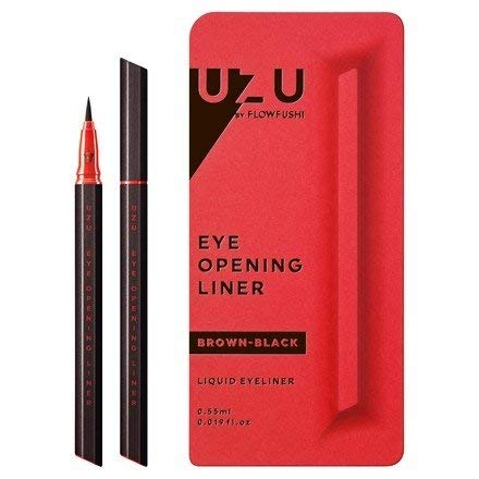 UZU Eye Opening Liner Brown Black