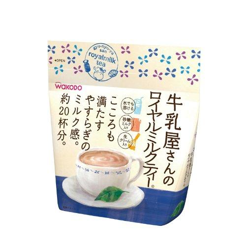 Wakodo Gyu Nyu Ya San Royal Milk Tea 260g