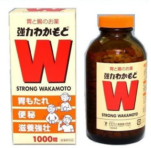 Strong Wakamoto 1,000 Tablets