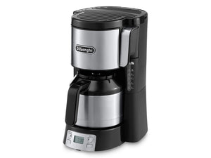 Delonghi Icm 15750 Kaffeeautomat Thermo Silber Sw