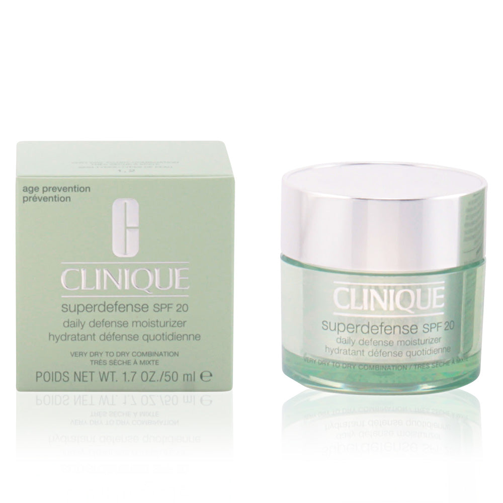 Clinique SUPERDEFENSE SPF20 daily defense moisturizer I/II