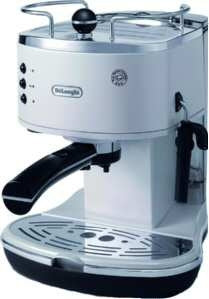 Delonghi Eco 310 Bw Weiss Espressoautomat Icona