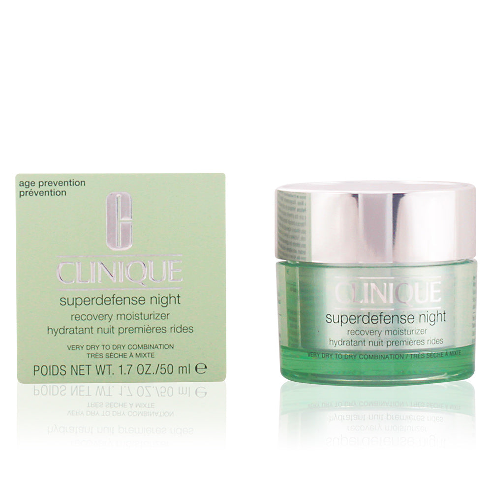 Clinique SUPERDEFENSE NIGHT recovery moisturizer PNS