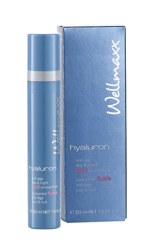 Wellmaxx hyaluron anti-age day & night fluid concentrate