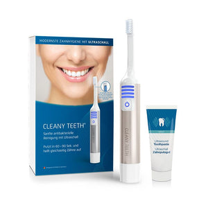 Techmira Cleany Teeth Starter Kit Ultraschall Zahnburste