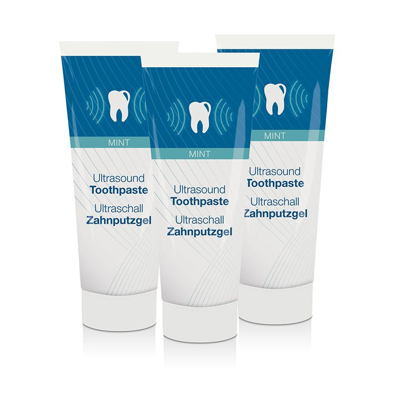 Techmira Cleany Teeth Fluorid Zahnputzgel 3er Pack