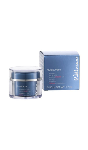 Hyaluron Anti Age Day Night Absolute Cream Rich Calcium