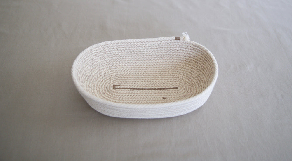 Decorative Cotton Bread Basket