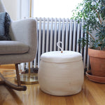 Large Storage Basket with Lid