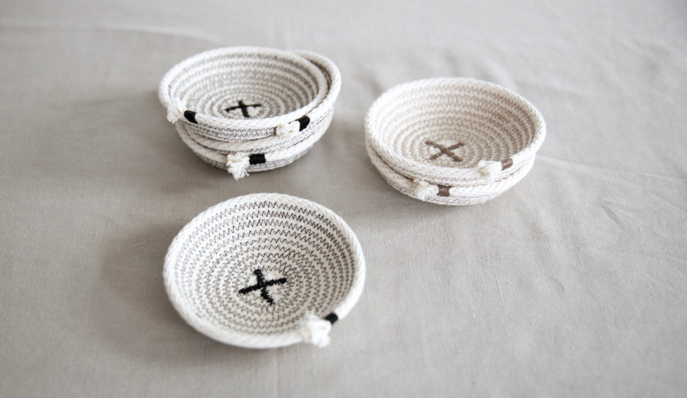 Coaster and Catch All Tray, set of 4