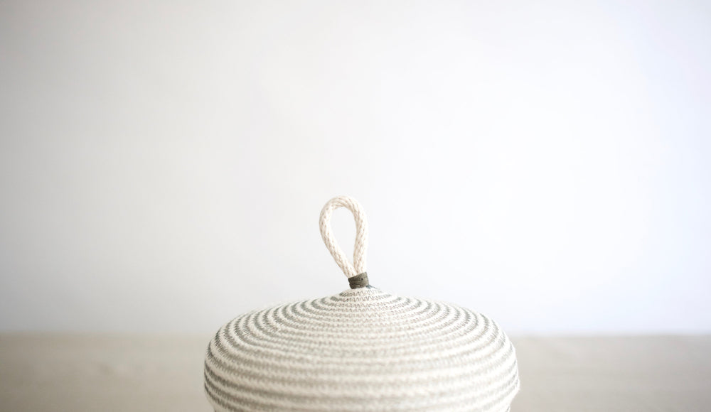 Medium Lidded Basket