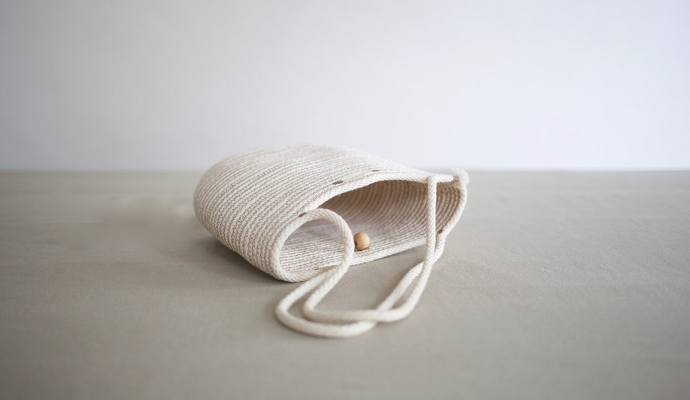 Small Natural Cotton Handbag