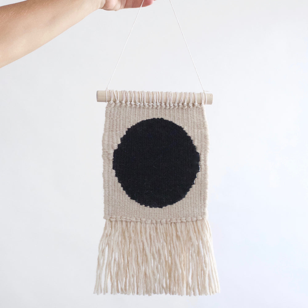 Modern Mini Circle Wall Hanging