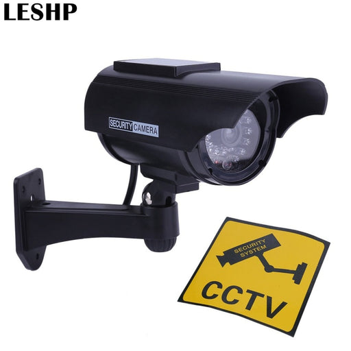 Solar Power Dummy Fake Imitation Home CCTV Camera