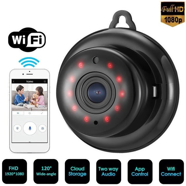 1080P HD Intelligent Security Viewer Wireless Camera