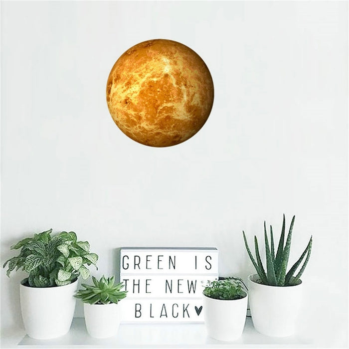 3D Moon Wall Sticker