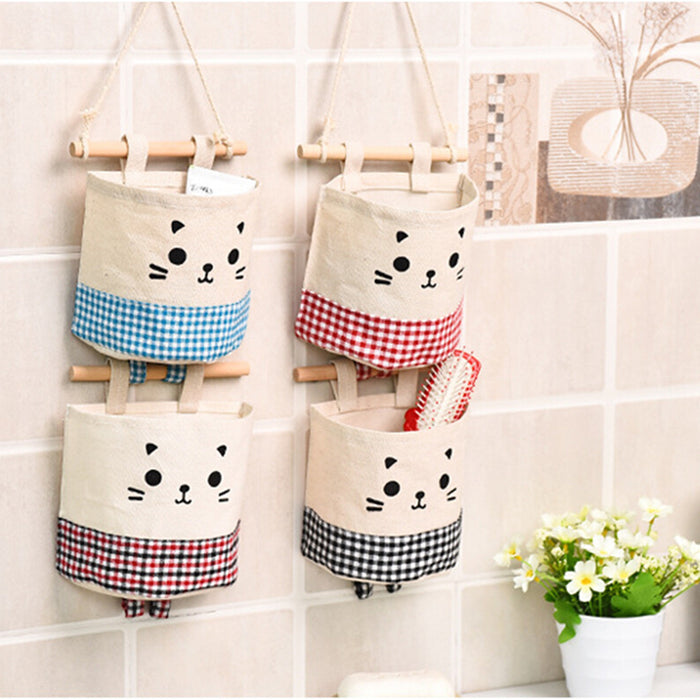 Cat Hanging Storage Bag