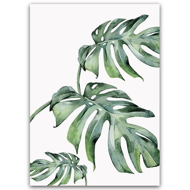 Green Leaves Painting
