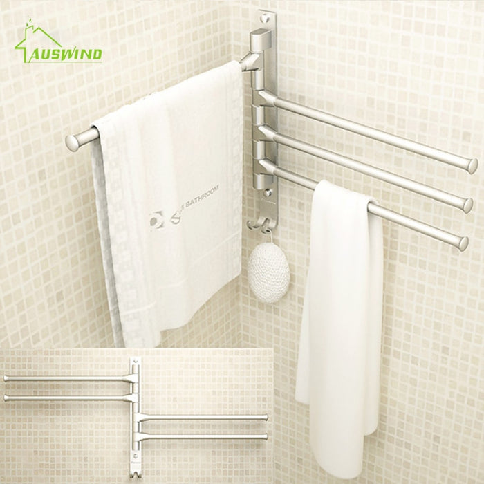 Toilet Towel Hanging with Hooks