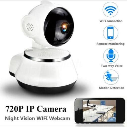 720P HD Wireless Wifi IP Home Security Camera