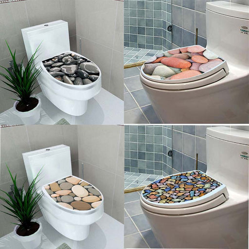 3D Toilet Seat Sticker
