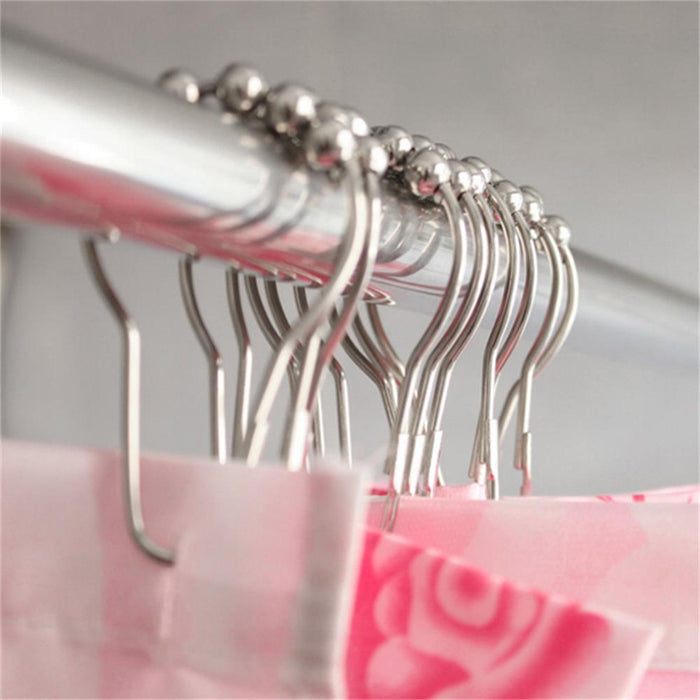 Roller Ball Shower Curtain Rings