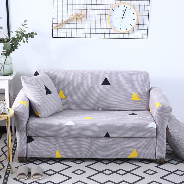 Geometric Sofa Cover