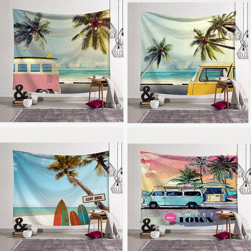 Town Car Tapestry