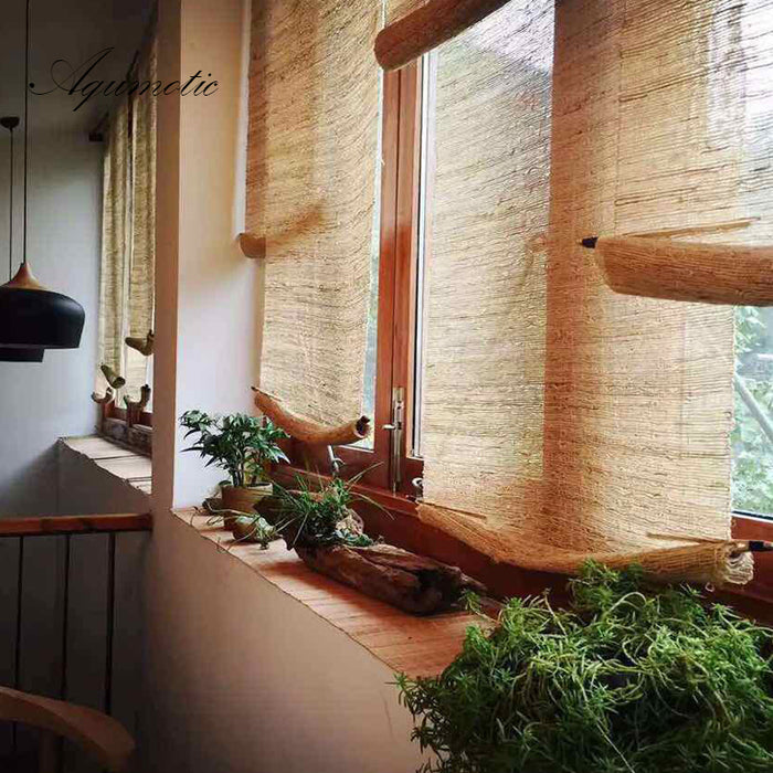 Natural Rattan Window Blinds