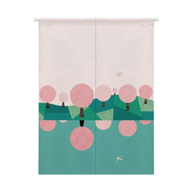 Fabric Room Divider