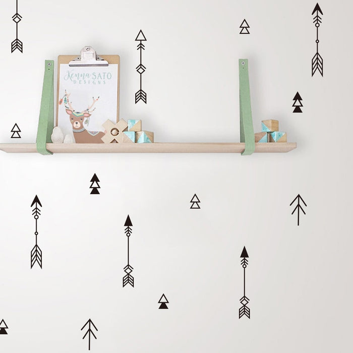 42pcs Arrow Wall Sticker
