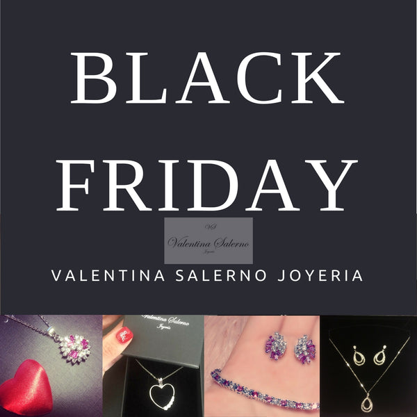 Ofertas Black Friday en Joyería Valentina Salerno - Joyas Black Friday