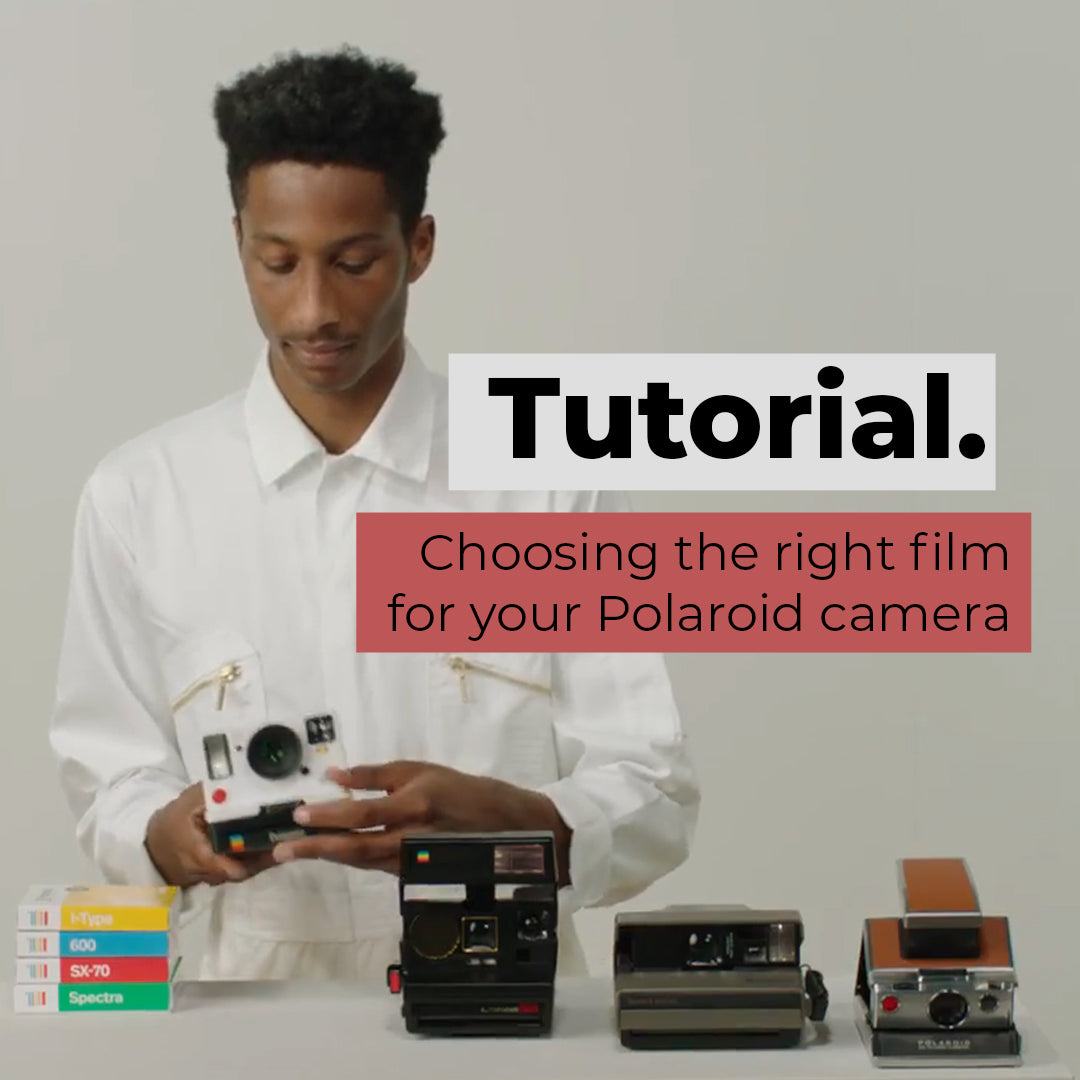 Choosing the right film for your Polaroid camera