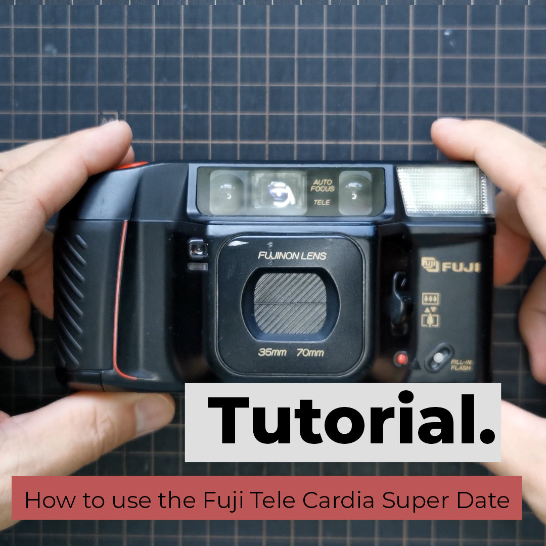 How to use the Fuji Tele Cardia Super Date / DL-400 Tele QD