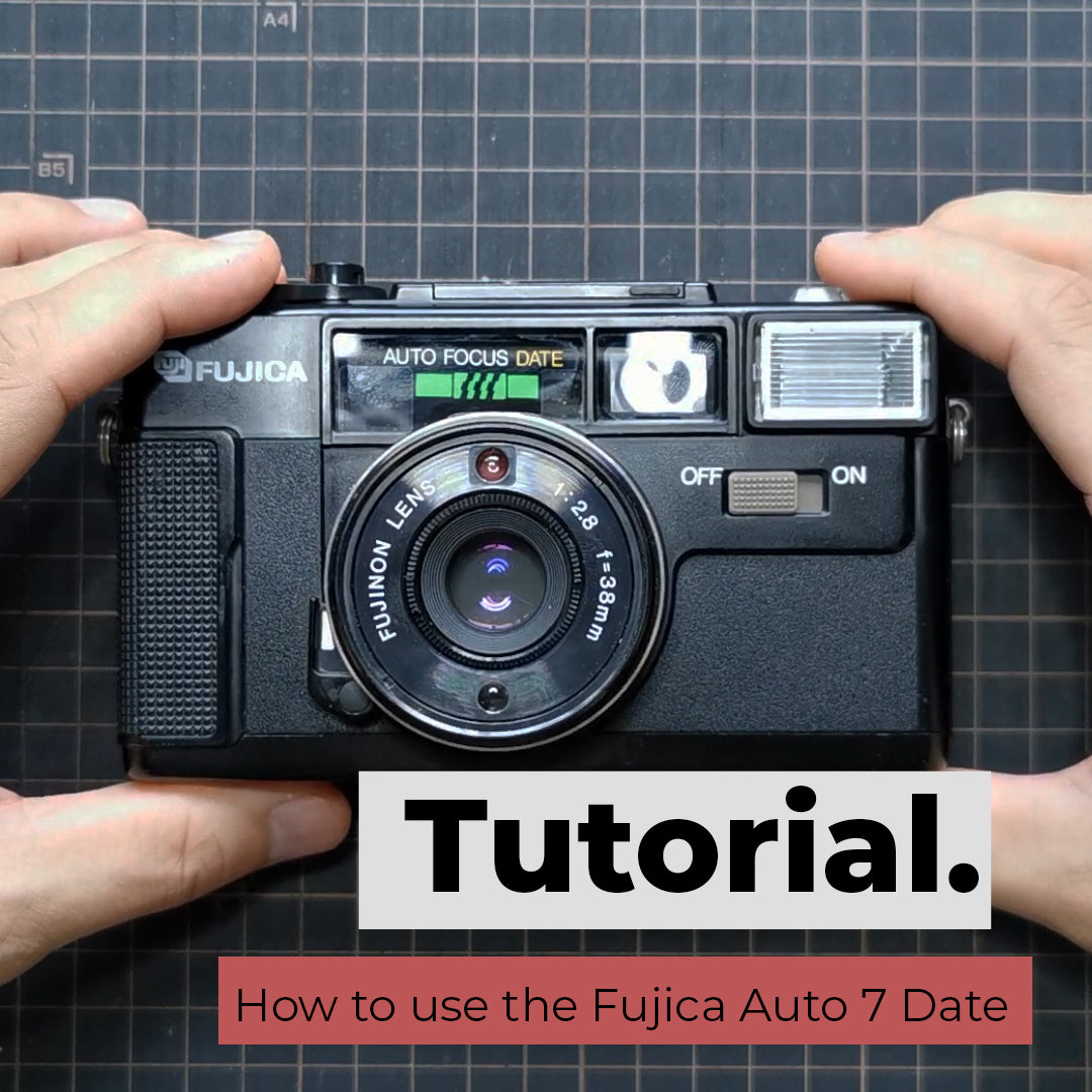 How to use the Fujica Auto-7 Date
