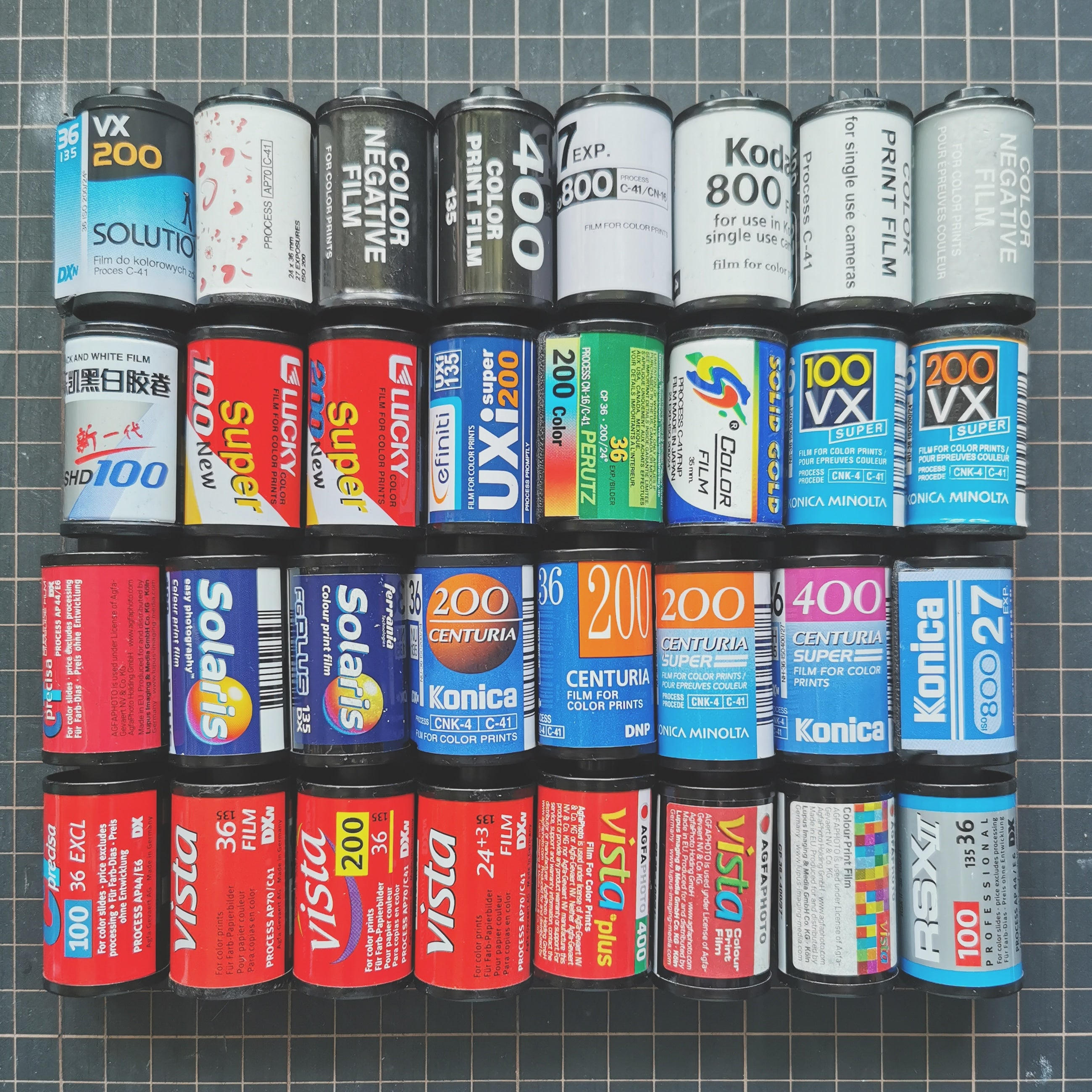 Favourite 35mm Agfa, Konica, etc?