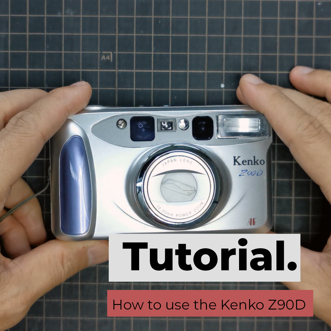 How to use the Kenko Z90D