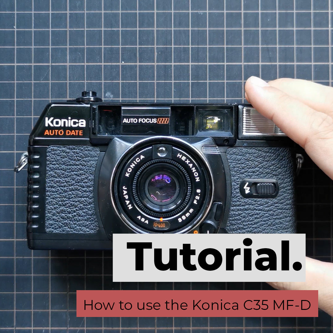 How to use the Konica C35 MF-D