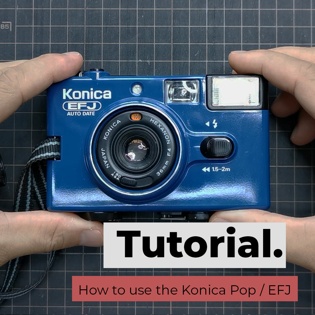 How to use the Konica Pop / EFJ