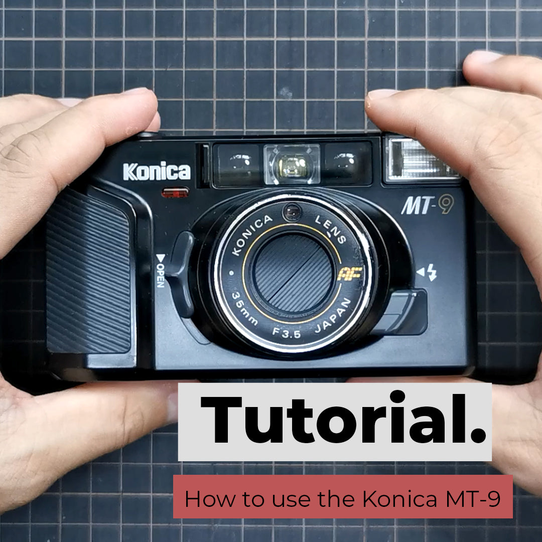 How to use the Konica MT-9
