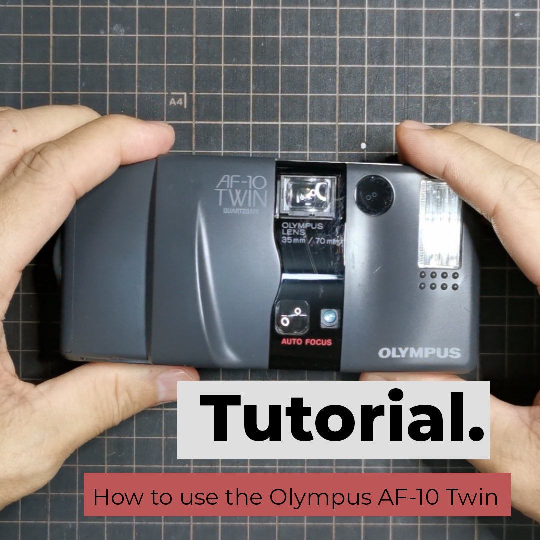 How to use the Olympus AF-10 Twin